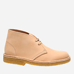 Desert Boot. Natural Veg Tan Leather originals-womens-boots