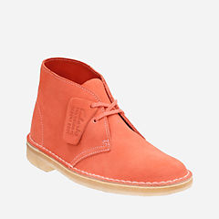 Womens Desert Boot Light Coral Suede originals-womens-boots