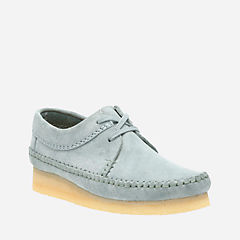 Womens Weaver Blue/Grey Suede originals-womens