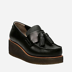 Peggy Grace Black Leather originals-womens-shoes
