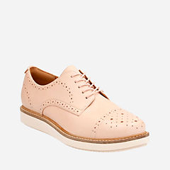 Glick Shine Nude Leather womens-casual-shoes