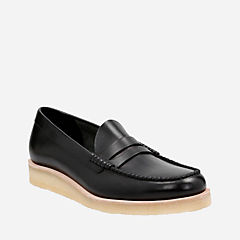 Burcott Loafer Black Leather originals-mens-shoes