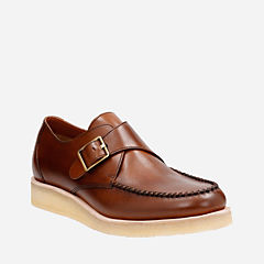 Burcott Monk Cognac Leather originals-mens-shoes