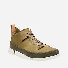 Trigenic Flex Forest Green Nubuck originals-mens-shoes