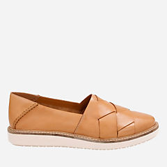 Glick Harvest Light Tan Leather womens-casual-shoes