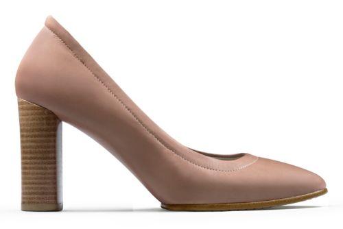 grace dusty pink leather s heels clarks