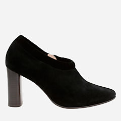 Grace Lola Black Suede womens-heels