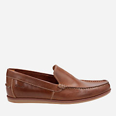 Bristow Race Cognac Leather mens-loafer-slip-on