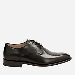 Twinley Lace Black Leather mens-oxfords-lace-ups
