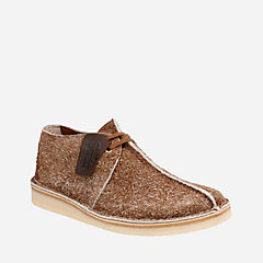 Desert Trek Cola Hairy Suede originals-mens-shoes