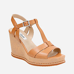 Adesha River Tan Leather womens-wide-width