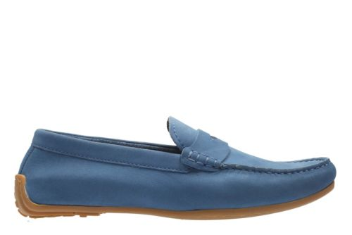 Reazor Drive Blue Nubuck mens-casual-shoes