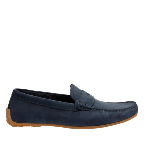Reazor Drive Navy Nubuck mens-casual-shoes
