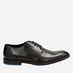 Prangley Walk Black leather mens-oxfords-lace-ups