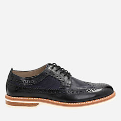 Pitney Limit Black Combi Lea mens-oxfords-lace-ups