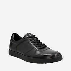 Calderon Speed Black Leather mens-casual-shoes