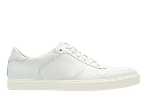 Calderon Speed White Leather mens-casual-shoes