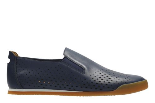 Clarks Mens Siddal Step Shoes (Multi Colors)