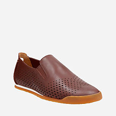 Siddal Step Chestnut Leather mens-loafer-slip-on