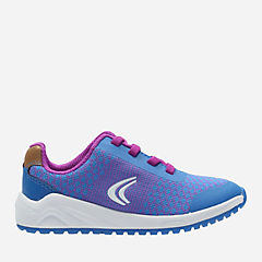 Frisby Fun Toddler Blue Combi girls-sneakers