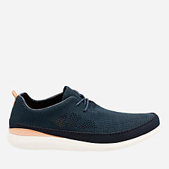 Pitman Run Navy mens-ortholite