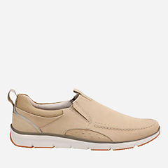 Orson Row Sand Nubuck mens-loafer-slip-on