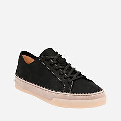 Hidi Holly Black Nubuck womens-active