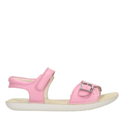 Ivy Blossom Youth Pink Leather girls-toddler