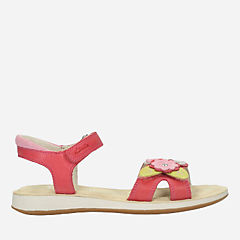 Sea Splash Toddler Pink Leather girls-junior
