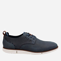 Trigen Lace Navy Nubuck mens-oxfords-lace-ups