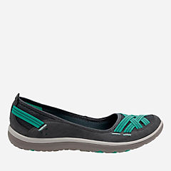Aria Pump Navy Nubuck womens-active