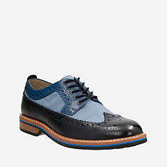 Pitney Limit Blue Combi Leather mens-oxfords-lace-ups
