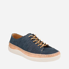 Veho Edge Navy Nubuck mens-casual-shoes