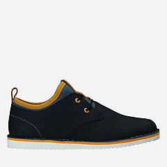 Oscar Maze Inf Navy Leather boys-sneakers