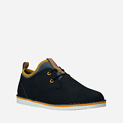 Oscar Maze Youth Navy Leather boys-junior