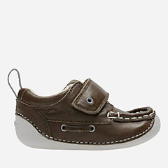 Cruiser Deck Baby Brown Leather boys-pre-walker