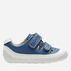 Tiny Boy Baby Blue Leather boys-pre-walker