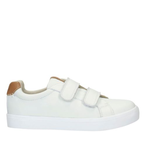 Brill Rap Toddler White Leather boys-sneakers