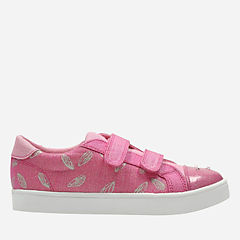 Pattie Lola Toddler Pink/Print girls-sneakers