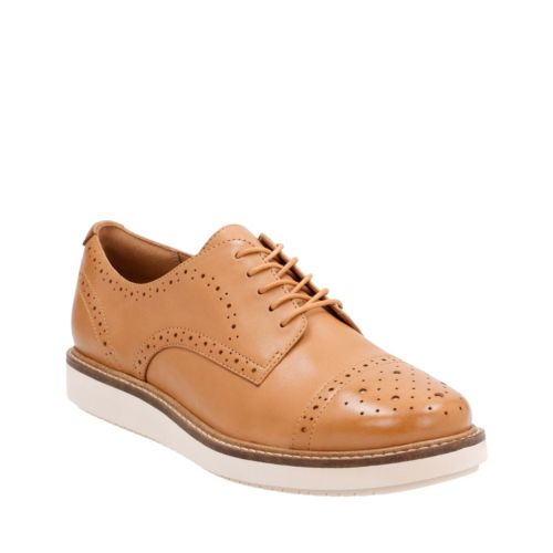 Glick Shine Light Tan Leather womens-casual-shoes