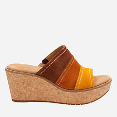 Aisley Lily Tan Combi Suede womens-sandals-wedge