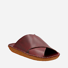 Litton Sandal. Burgundy Leather originals-womens-sandals