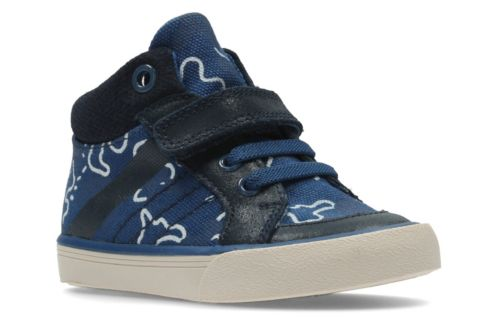 Juggle Fun Fst Navy Textile boys-shoes