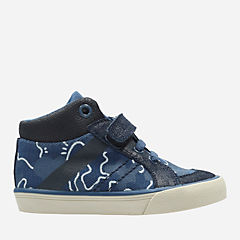 Juggle Fun First Navy Textile boys-shoes