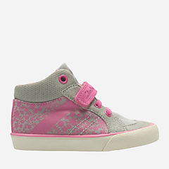 Juggle Kit First Grey Combi Textile girls-shoes