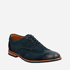 Broyd Wing Navy Suede mens-oxfords-lace-ups