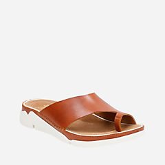 Tri Alba Tan Leather womens-flat-sandals