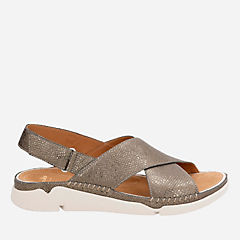 Tri Alexia Metallic Leather womens-flat-sandals