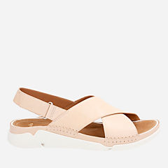 Tri Alexia Nude Leather womens-flat-sandals