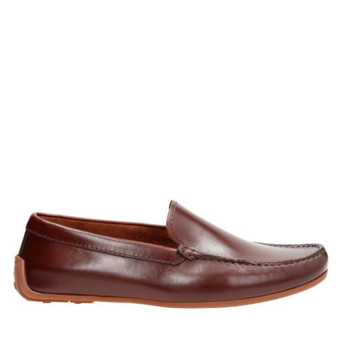 Reazor Edge British Tan mens-loafer-slip-on